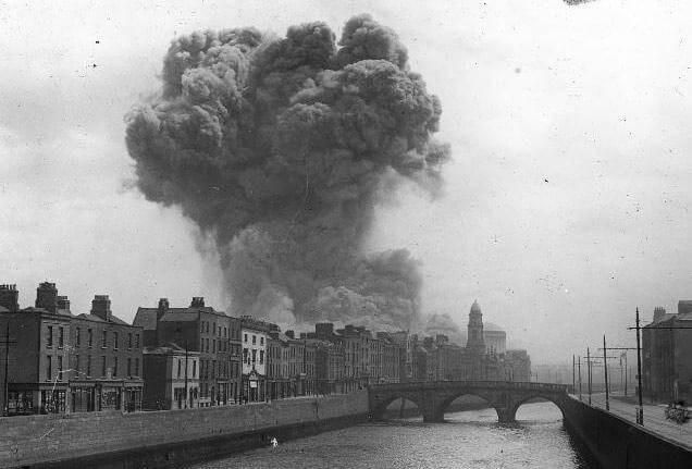 Four Courts fire 1922